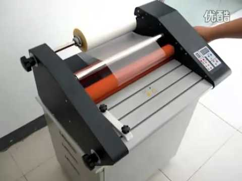 Bd Fm360 Electric Paper Laminating Machine Hot Cold Laminating Machine Youtube