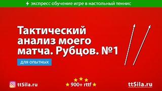 Видео огонь! Разбор моего матча Игорем Рубцовым. 01