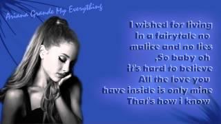 Ariana Grande - Only 1 Lyrics