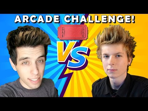Arcade Warrior VS Matt3756 Arcade Tickets Challenge!!
