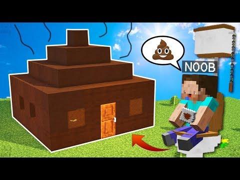 NOOB VS BOKTAN EV 😂 Minecraft TROLL #2