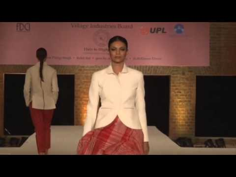 FDCI presents the 2nd edition of 'Huts to High Street', a Fashion Show to promote Khadi
