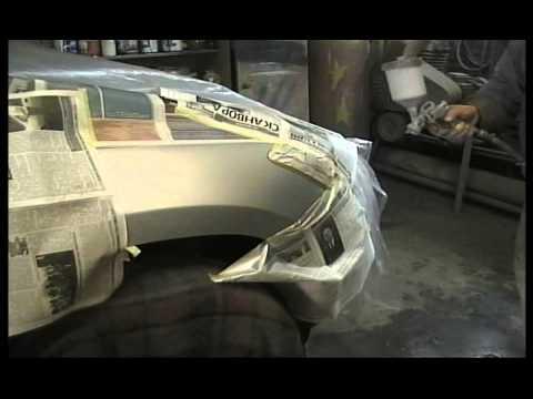 Как правильно покрасить бампер автомобиля своими руками