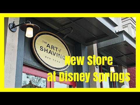 NOW OPEN! THE ART OF SHAVING AT DOWNTOWN DISNEY