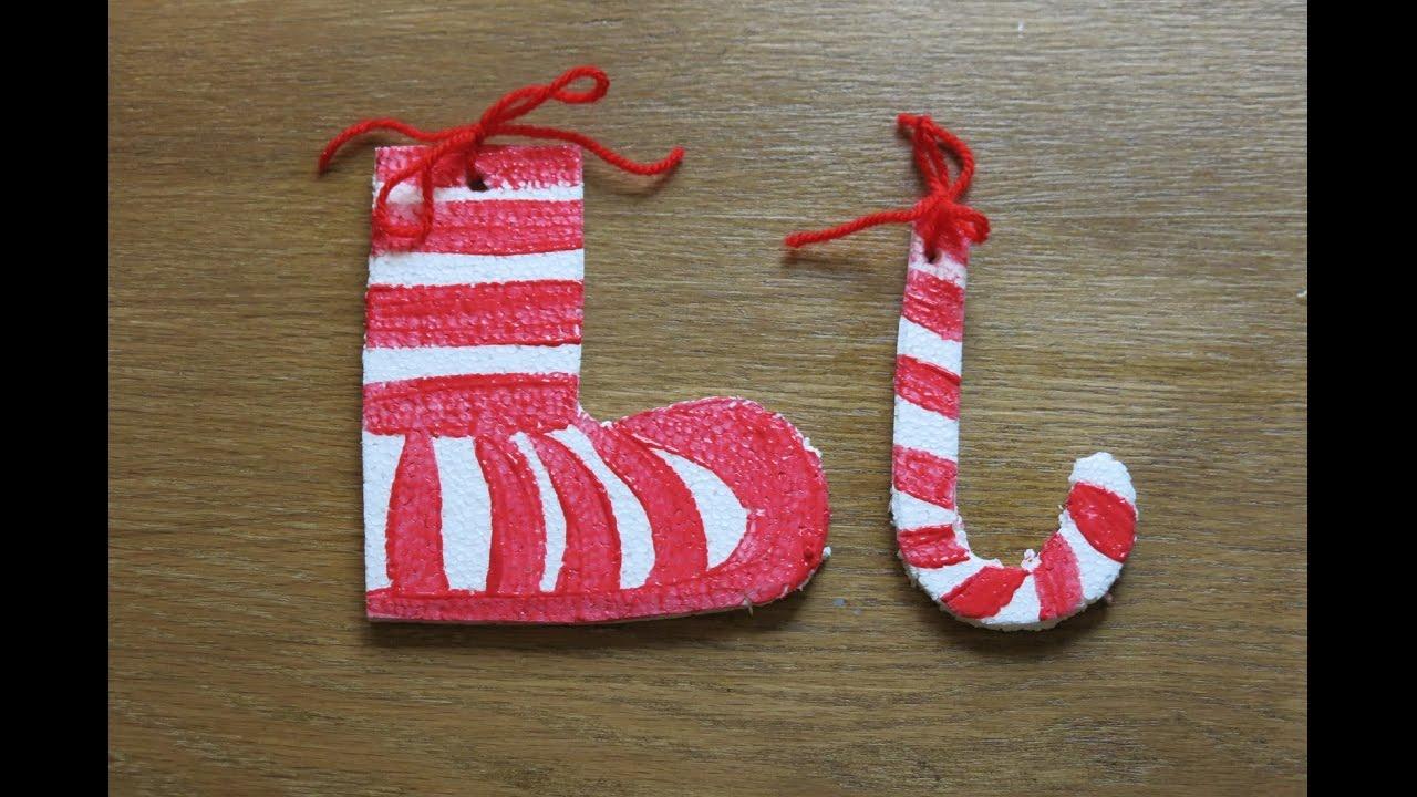 ca9156da4 DIY Stockings and Christmas Candy Cane. How to Make Christmas ...