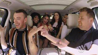 Fifth Harmony Surprises Sam Smith During Carpool Karaoke -- Watch!