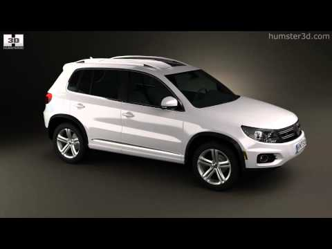 Volkswagen Tiguan Track & Style R-Line US 2013 by 3D model store Humster3D.com