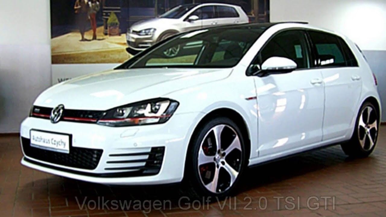 volkswagen golf vii 2 0 tsi gti dsg gw106929 pure white autohaus czychy youtube. Black Bedroom Furniture Sets. Home Design Ideas
