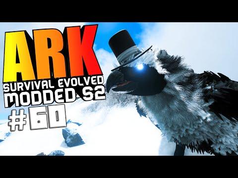 ARK Survival Evolved - NILLOC SKY WARDEN BOSS BATTLE, ALPHA MAMMOTH TAMING Modded #60 (ARK Gameplay)