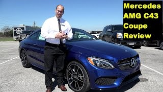 2017 Mercedes AMG C43 Coupe - Extended Review and Test Drive in 4K Ultra HD - by John D. Villarreal