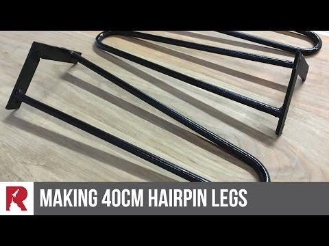Brass Hairpin Legs