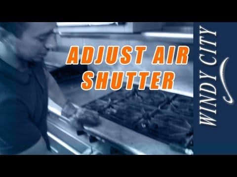 How to adjust air shutters on stove tutorial DIY Windy ...