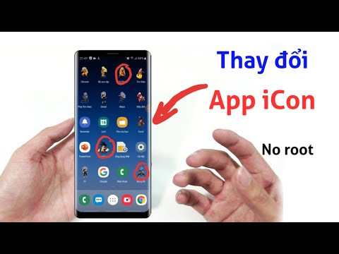 Cách đổi ảnh đại diện icon ứng dụng Android (Change App icon in Android)