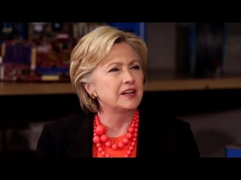 Hillary Clinton gets defensive with environmental activist