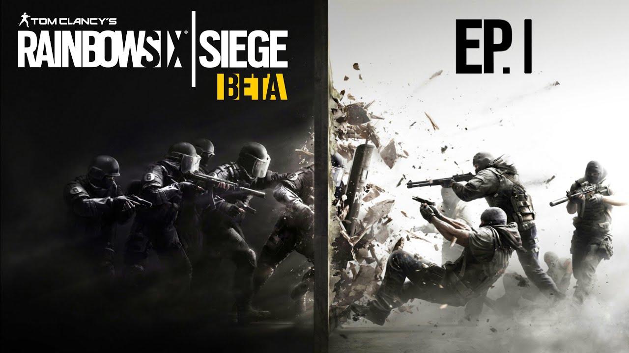 Rainbow Six Siege Beta Start