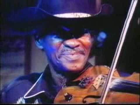Clarence Gatemouth Brown and his fiddle