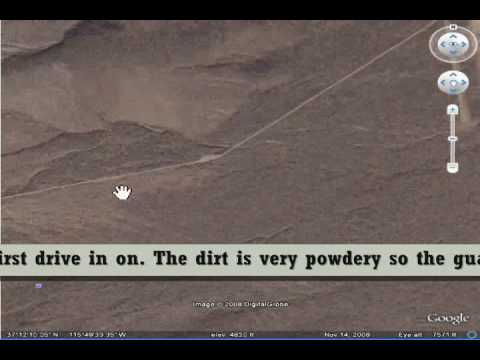 Tour of Area 51 (google earth) With Facts