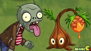 Plants Vs Zombies 2: New Frostbite Caves Plant Sap-Fling New Zombies Revealed
