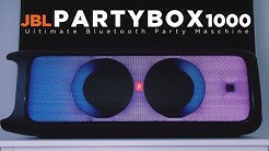 JBL PARTYBOX 1000 | Das Bass Monster | Klangcheck | 2019 | deutsch