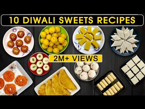 10 Diwali Sweets Recipe In Tamil | Diwali Sweets At Home | Diwali Sweets In Tamil
