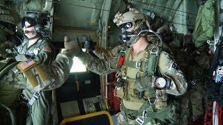 Wow! Special Forces Green Berets High Altitude Parachute Jump