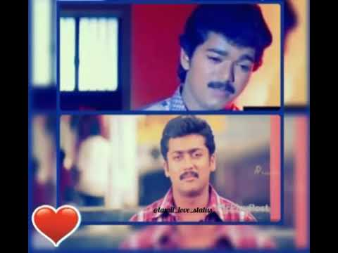 Tamil vijay & suriya love sad advice in status