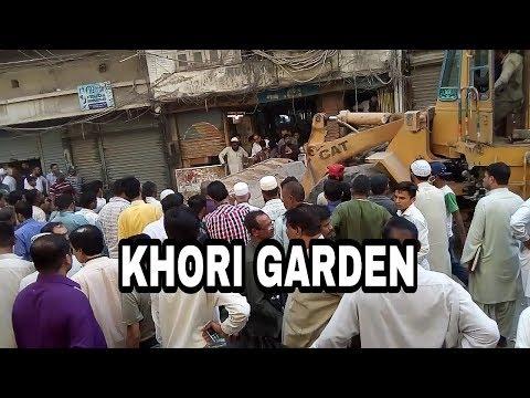 khori garden karachi   grand anti-encroachment operation   anti-encroachment operation in karachi
