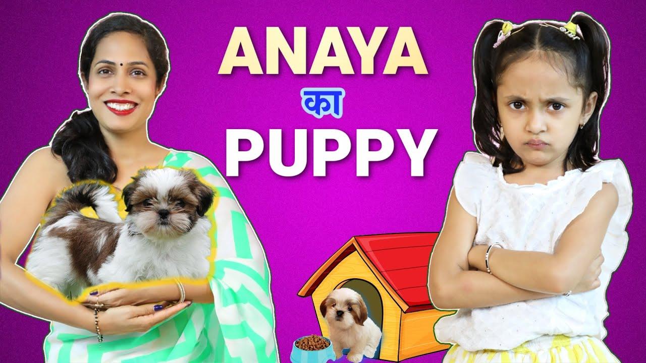 Anaya Ka Puppy | ShrutiArjunAnand