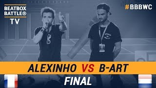B-Art vs Alexinho - Final - 5th Beatbox Battle World Championship