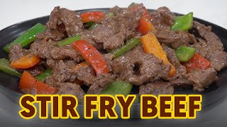 9 minute Beef Stir Fry (Remake)