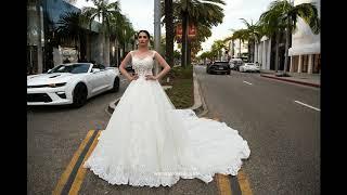 Свадебные платья со шлейфом 2018