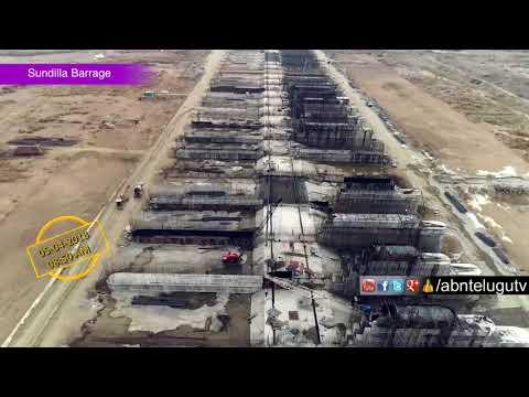 Kaleshwaram Irrigation Project Construction Exclusive Visuals