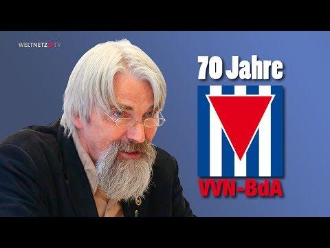 Dr. Ulrich Schneider: 70 Jahre Arbeit gegen das Vergessen - 70 Jahre VVN