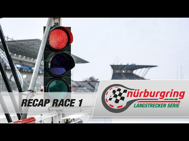 Recap Rennen 1 Nürburgring Langstrecken-Serie (NLS)