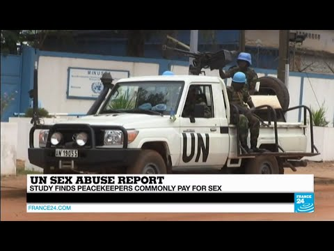 UN sex abuse report: study finds UN peacekeepers commonly pay for sex