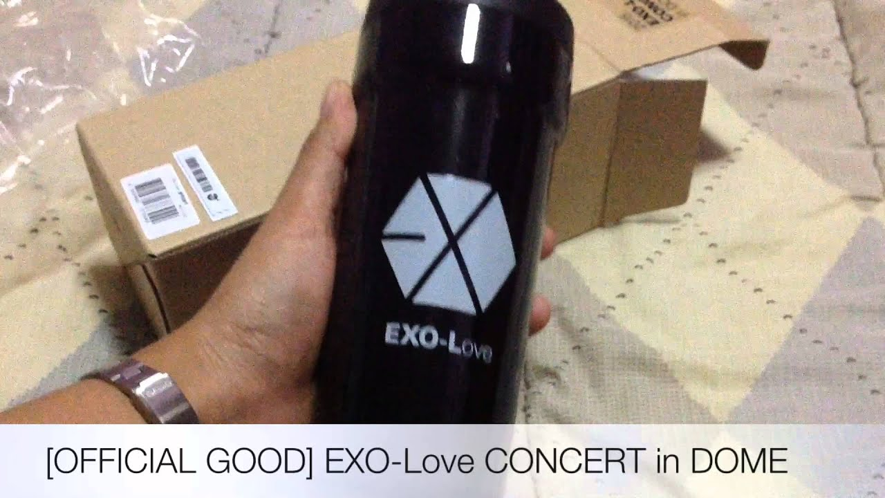 Unboxing OFFICIAL GOOD EXO Love CONCERT In DOME