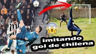 CRISTIANO RONALDO CHALLENGE  ¡Retos de fútbol épicos!