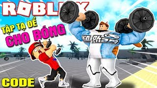 Roblox | When KIA and VAMY GO for the BALL to WEIGHT-Weight Lifting Simulator 3 (Code) | Kia Breaking