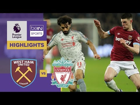 5b2f1a8a4 West Ham 1-1 Liverpool Match Highlights