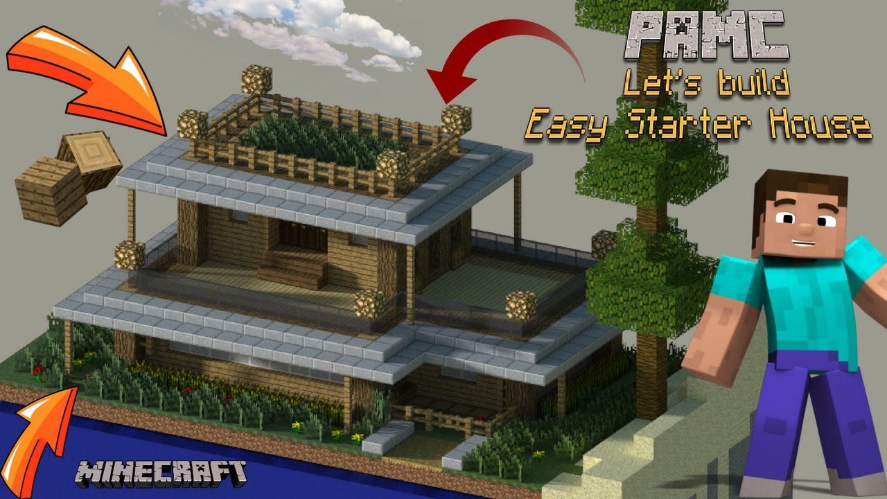 Minecraft Easy Starter Survival House Minecraft Map
