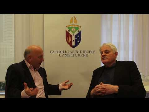 Media Director, Archdiocese of Melbourne, Shane Healy speaks with Benedictine Mark Hederman,