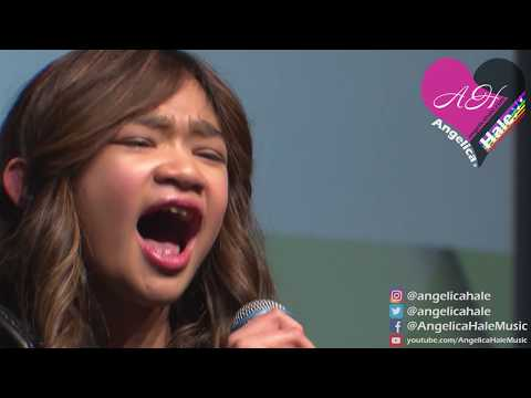 """Angelica Hale Singing """"Firework"""" - 2018 Chicago Fresenius Conference"""