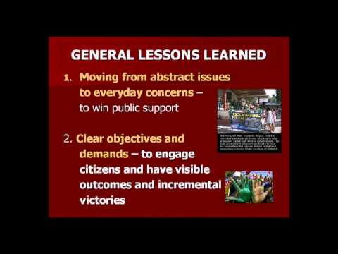 Shaazka Beyerle - Disrupting Corruption: People Power to Gain Accountability (webinar)