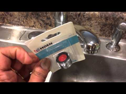 DIY: How to replace faucet filter or aerator