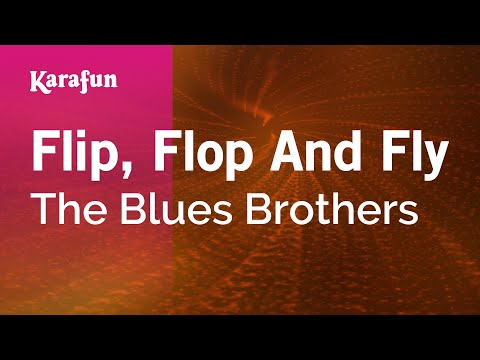 Karaoke Flip, Flop And Fly - The Blues Brothers *