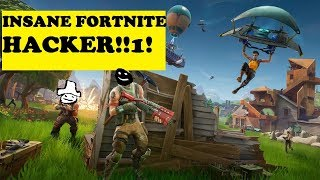 Fortnite | A Hacker killed me in Fornite