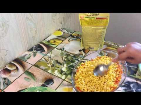 Салат с куриной грудкой и грибами - пошаговый рецепт с
