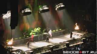 Rammstein - Intro+Sonne [01.03.2012 - Manchester] (multicam by Nightwolf) HD