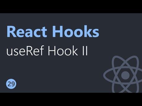 React Hooks Tutorial - 29 - useRef Hook Part 2 thumbnail