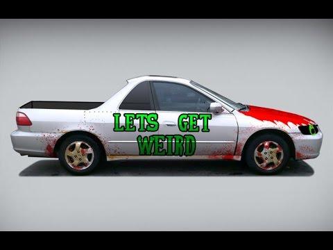 Weirdmobile Part 2 Zombie Honda Accord El Camino
